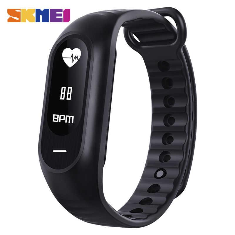 SKMEI Sport Degli Uomini Delle Donne Orologi Smartwatch Impermeabile Misuratore di Pressione Sanguigna Monitor di Frequenza Cardiaca di Smart Braccialetto di Orologi Da Polso di Sport
