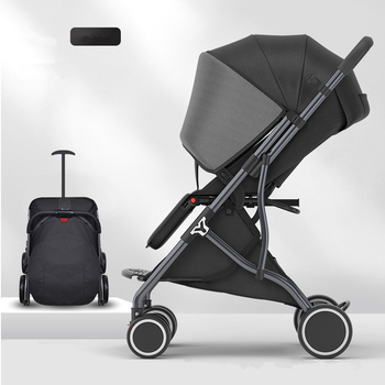 6Kg Adjustable Luxury Baby Stroller 3 in 1 Portable High Landscape Lightweight Stroller Pink Stroller Travel Pram Pushchair 5 5kg high landscape baby stroller lightweight baby strollers foldable portable four wheel stroller baby carrier pushchair cart