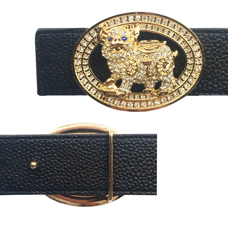 Luxury Animal Icon Buckle For Belt Metal Accessories For Men's Belts