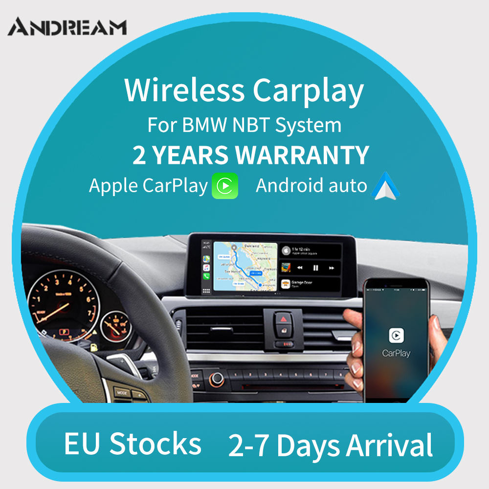 Andream For BMW CarPlay and Android Auto Module for BMW NBT F30 F32 F33 F36 F10 F11 F07 GT Support Mirrorlink(China)