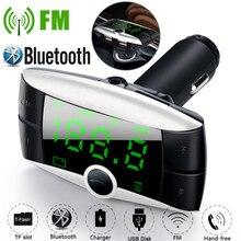 OMESHIN Автомобильный MP3-плеер Беспроводной Bluetooth FM передатчик модулятор Автомобильный комплект mp3 плеер SD/MMC Dual USB Зарядное устройство