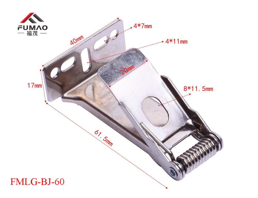 Купить с кэшбэком Manufacture led flat panel push fix spring clips