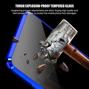 Image 5 - Anti peep magnética caso para samsung s8 s9 s10 plus vidro temperado caso para samsung note 8 9 couque 360 capa de proteção completa