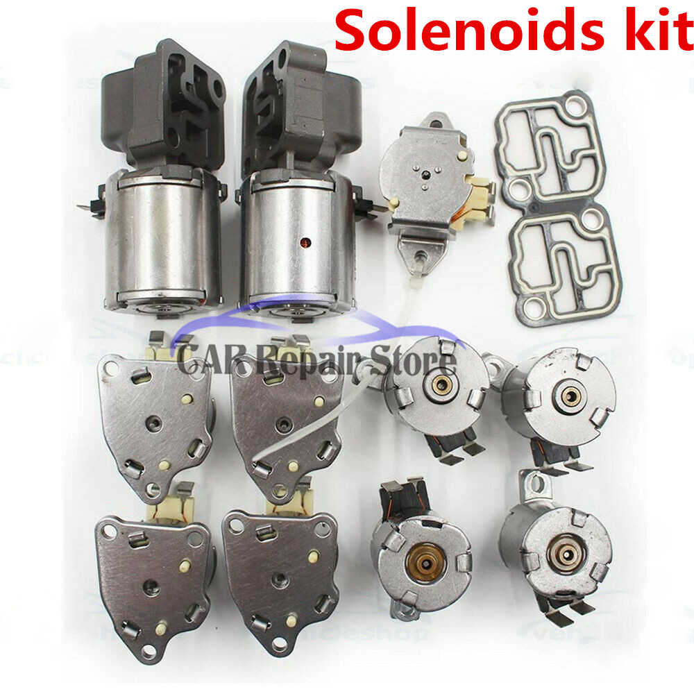 DQ250 DSG 02E Automatic Transmission 6 Speed Solenoids kit For Audi Skoda VW Seat Remanufactured|Valves & Parts| |  - title=