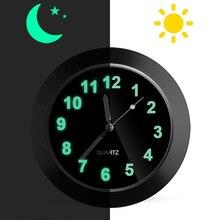 Авто Датчик часы мини автомобиль вентиляционное отверстие кварцевые часы с зажимом автомобильный воздуховод Часы Автомобиль Стайлинг вентиляционное отверстие клип указатель часы