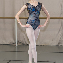 Dance Leotards Gymnastics-Costume Ballet Black Women Sansha 50AI1031P Printing New-Arrival