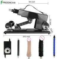 FREDORCH Sex Machine for Women Automatic Female Masturbation Pumping Gun 3XLR Love Machines With Dildo Adult Sex Toy