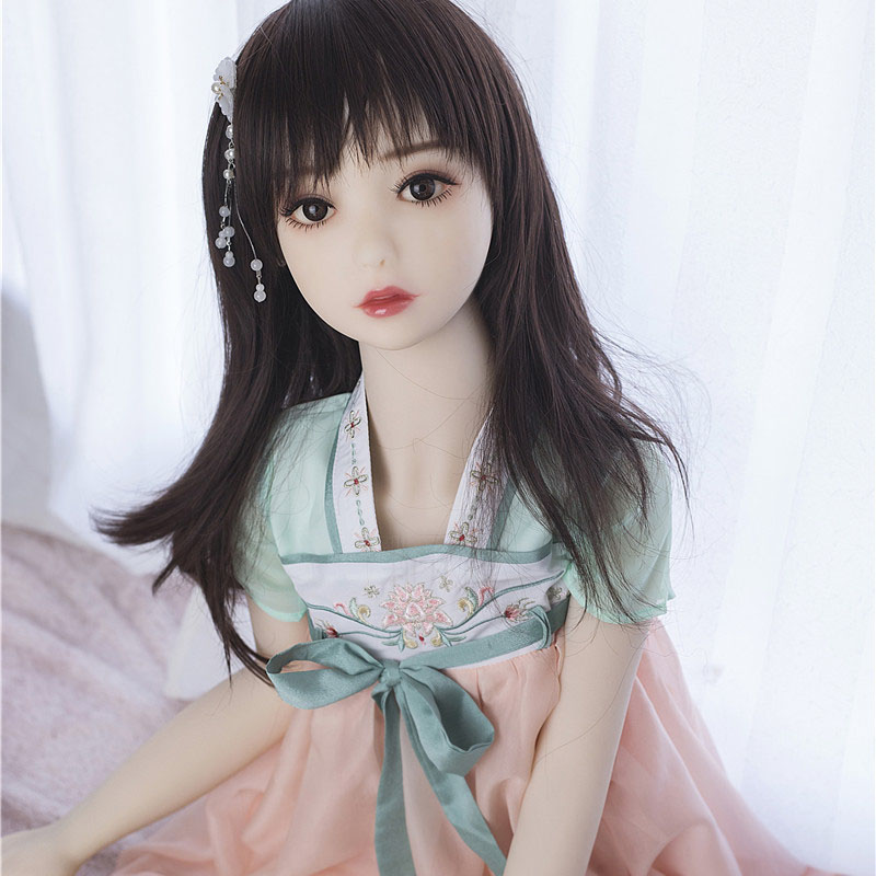 125cm Small Chest Anime Sex Doll Life Size Small Tits Real Young Tpe Sex Doll Girls Making Love Sex Toys