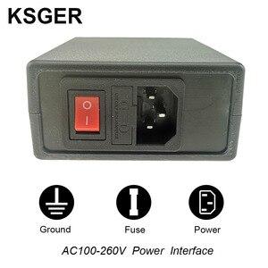 Image 5 - KSGER T12 הלחמה תחנת STM32 דיגיטלי בקר ABS מקרה 907 הלחמה ברזל ידית אוטומטי שינה Boost מצב חימום T12 טיפ