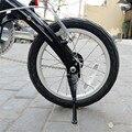 Fahrrad Ständer 16-14 Zoll BYA412 K3 Faltrad Ständer Fahrrad Fuß Halterung Unterstützung Silber Schwarz