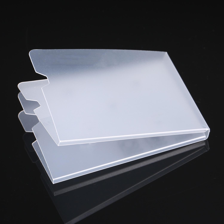 20pcs Foldable Disposable Dustproof Mouth Face Mask Case Storage Clip Box Container Portable 18.5x6cm