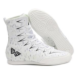 Боксерские боксерские кроссовки для детей, Нескользящие, легкие дышащие, обувь для бокса