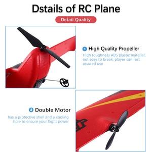 Image 3 - Z50 RC 비행기 2.4G 무선 RC 공기 비행기 EPP 거품 소년 아이를위한 자이로 글라이더 300mAh RC 비행기 무선 제어 항공기 장난감을 건축했다