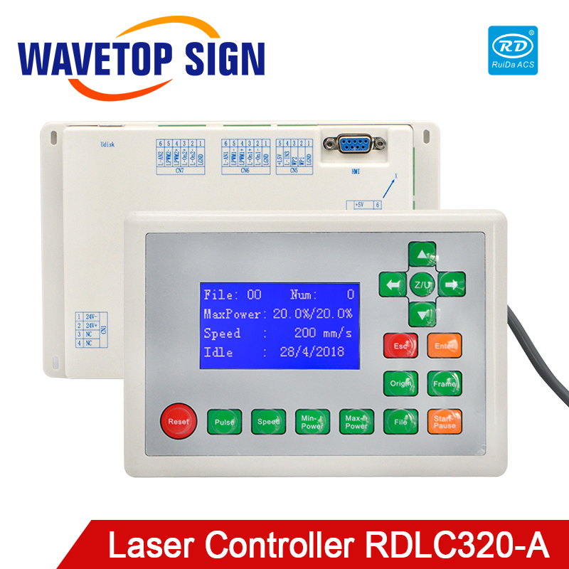 Ruida RDLC320-A Co2 Laser DSP 3-axis Standalone Controller For Co2 Laser Engraving And Cutting Machine RDLC320
