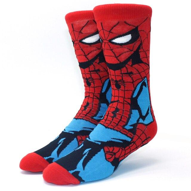 Looney Ttunes & Marvel Anime Cartoon Socks 5