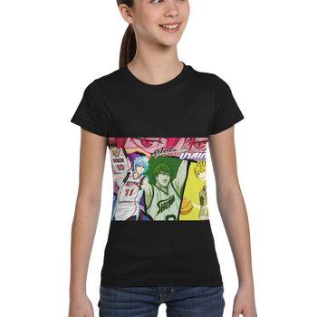 Motyw kreskówki koszykówka Kuroko druk 3D nowa rozrywka koszulka z krótkim rękawem Kuroko koszykówka koszulka sportowa koszulka rekreacyjna tanie i dobre opinie CASUAL SHORT CN (pochodzenie) COTTON POLIESTER NYLON Wiskoza Linen spandex Akrylowe Cztery pory roku Na co dzień t shirt for men