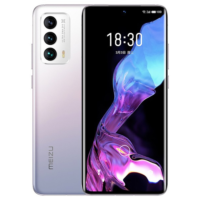 Original Meizu 18 Mobile Phone 6.2 Inch Screen 8GB+128GB Snapdragon 888 Octa Core Android 11 Fast Charging 36W NFC Smartphone 2