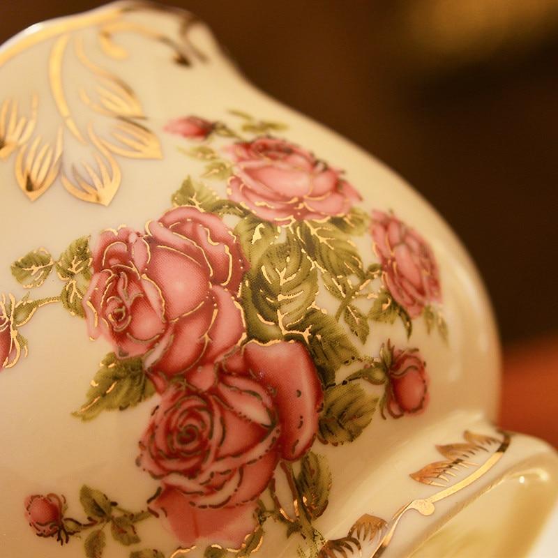 Yolife керамические чашки и блюдца, костяной фарфор, цвета слоновой кости, набор кофейных чашек в британском стиле, Набор чашек для черного чая,...
