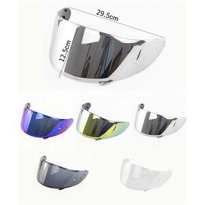 Image 2 - Motorcycle Helmet Visor for X14 Z7 CWR RF1200 Xspirit Full Face X14 Helmet Visor Casco Moto Windshield Capacete Accessories