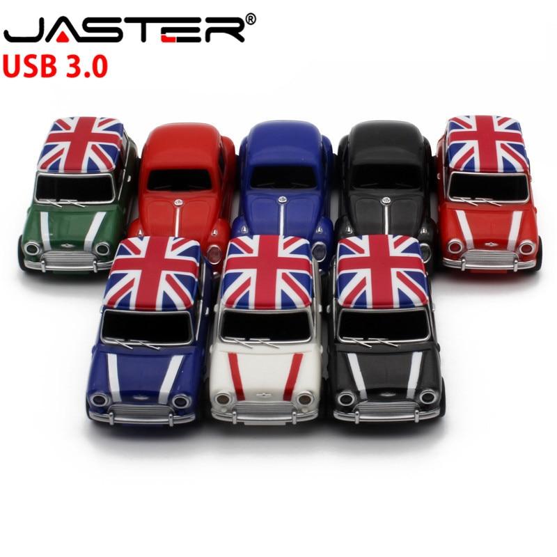 JASTER  Symulacja Samochodu 64GB USB, Mini Kreatywny Cooper Samochody Modelu Usb 3.0 Flash Memory Stick Pen Drive 4GB16GB 32G