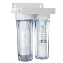 IALJ Топ 10 дюймов двойной кран обратного осмоса кран фильтр для воды очиститель здоровья картридж для дома кухня