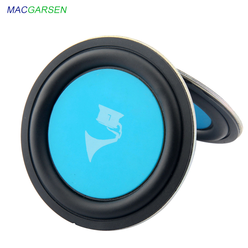 2pcs 3 Inch Subwoofer Speaker Radiation Diaphragm 1.5inch