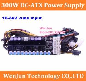 X300, 300w output, 16-24v wide input DC-DC ATX Power Supply (VR Ready Pico PSU) MINI ITX DC to Car ATX PC Power Module GTX1070(China)