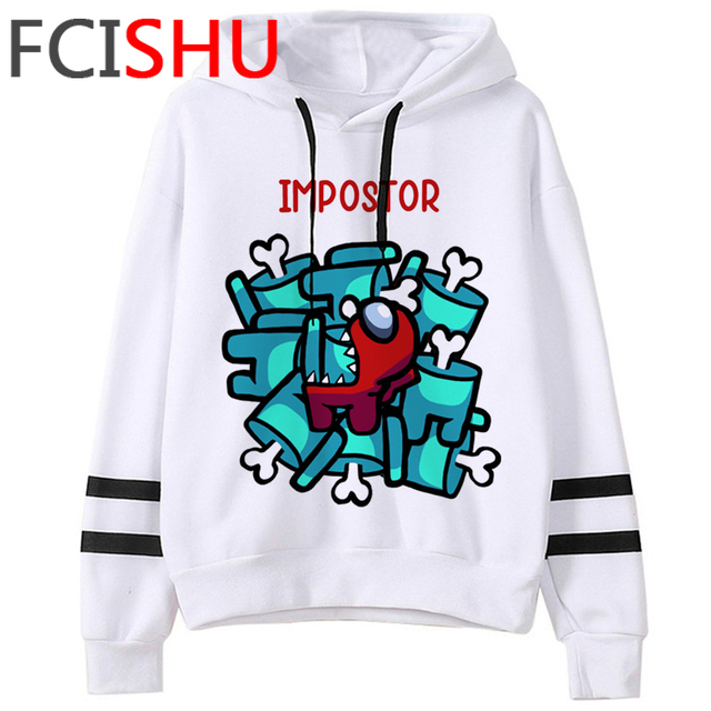 Hot Game Among Us Funny Cartoon Sweatshirts Fashion Casual Hoodies Sudadera Hombre Streetwear Hoodie Anime Pullovers Clothes
