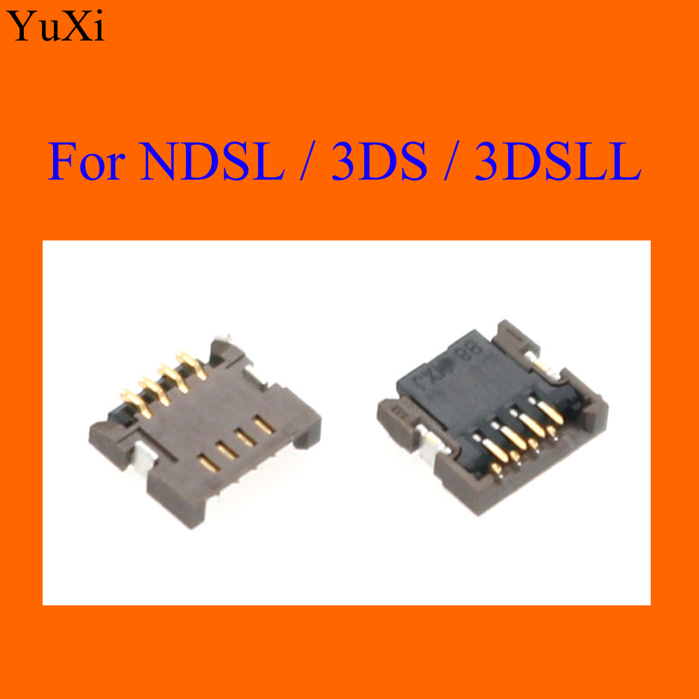 YuXi For NDSL For Nintendo DS Lite Touch Screen Ribbon Port Socket For 3DS / 3DS XL LL Repair 4 Pin Connector