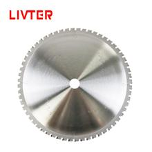 LIVTER lame de scie circulaire pour coupe de métal, 75Cr1