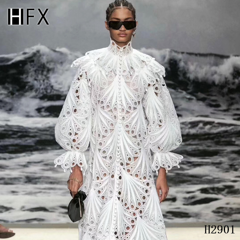 HFX 2019 latest african guipure lace white water soluble chemical lace fabric,high quality african cord lace free shipping H2311-in Lace from Home & Garden