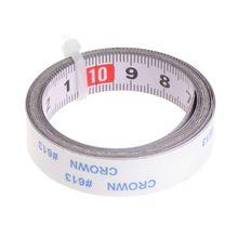 Miter Saw Tape Measure Self Adhesive Metric Steel Ruler Track Stop 1m