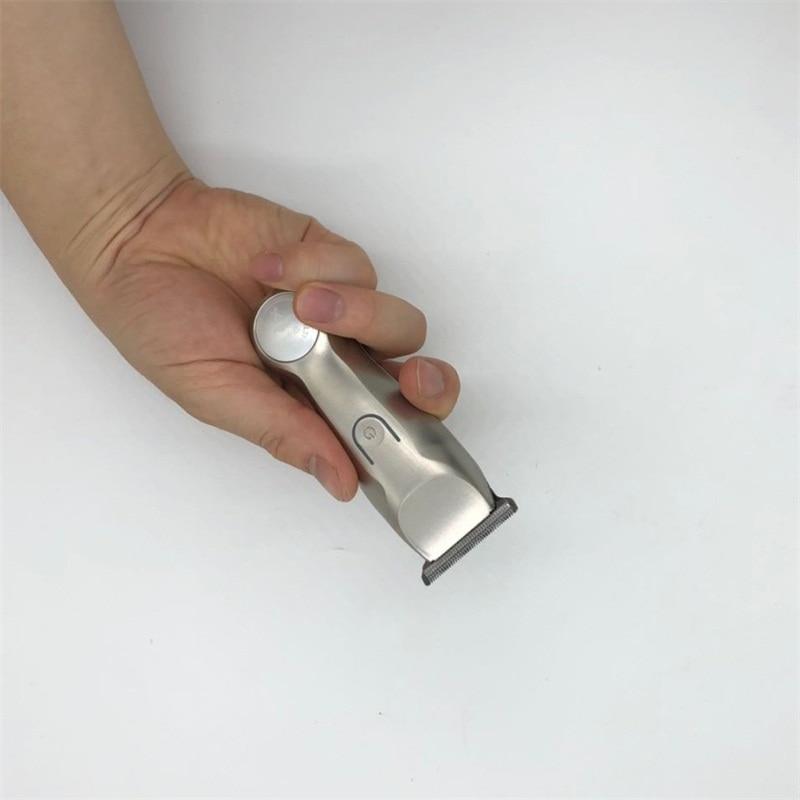 baixo ruído clipper titânio lâmina cerâmica para o barbeiro