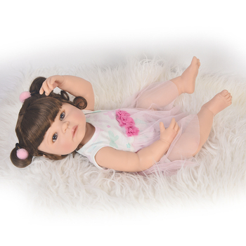 bebe reborn Babies Realistic Silicone Reborn Dolls 55 cm,New Arrival Lifelike Baby Reborn Toys for Kid's Christmas  Gift