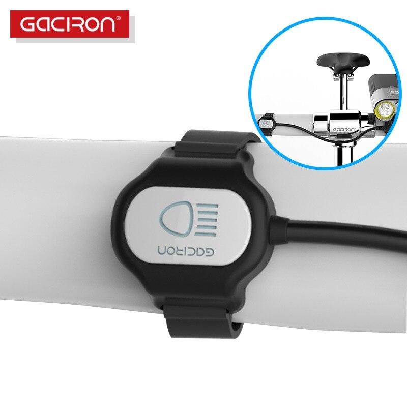 GACIRON Bike Headlight Wire Remote Switch Mode For V9C-400/V9F-600/V9C-800/V9S-1000/V9D-1600/V7S/V7D Bicycle Light Accessories