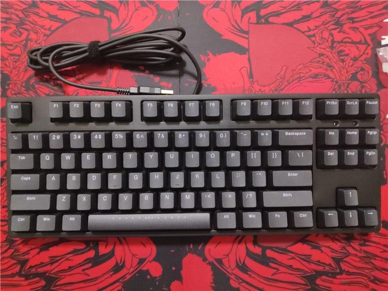 Permalink to IKBC C87 TKL mechanical keyboard tenkeyless C87 PBT keycap cherry mx silver switch  brown  speed  non-backlit gaming keyboard