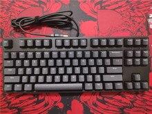 IKBC C87 TKL mekanik klavye tenkeyless C87 PBT klavye kiraz mx gümüş anahtarı kahverengi hız olmayan arkadan aydınlatmalı oyun klavyesi