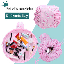 цены Women Washing Drawstring Travel Cosmetic Bag Makeup Bag Organizer Make Cosmetic bag Case Storage Pouch Toiletry Beauty Kit Box
