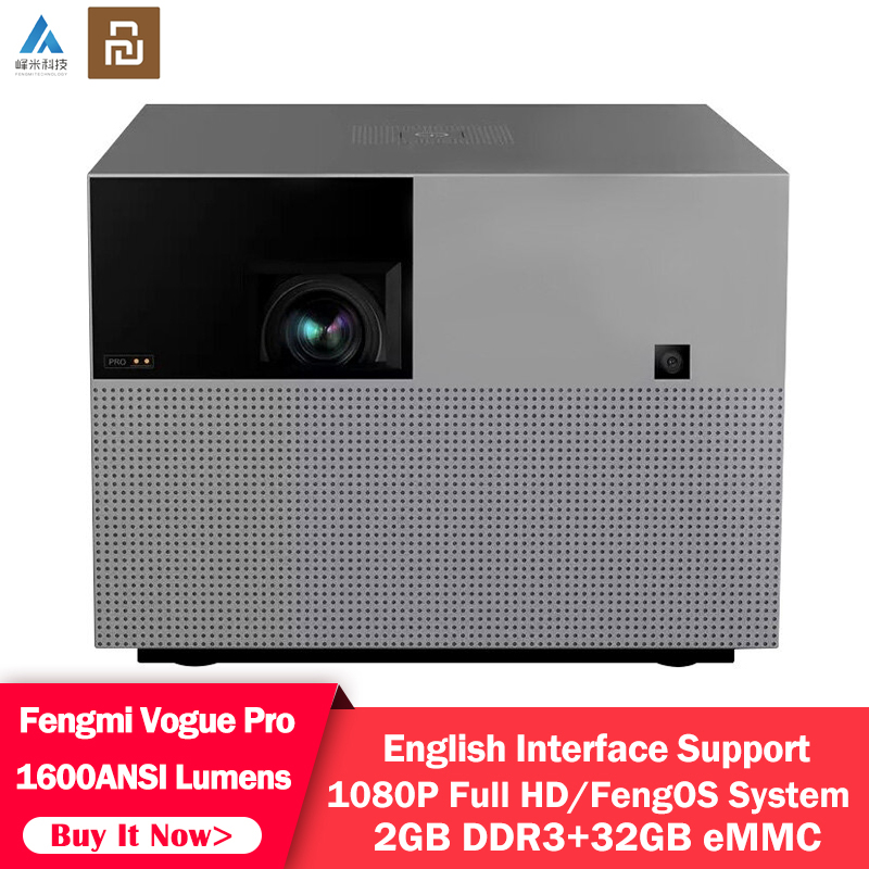 Home Theater Pro-Projector DLP Fengmi Vogue Lumens Smart Youpin Speaker Bluetooth ANSI