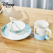 Disney Minnie Mickey Winnie the Pooh Cartoon Cup sets Coffee Milk Tea Breakfast Ceramic Mug Home Office Collection Tableware