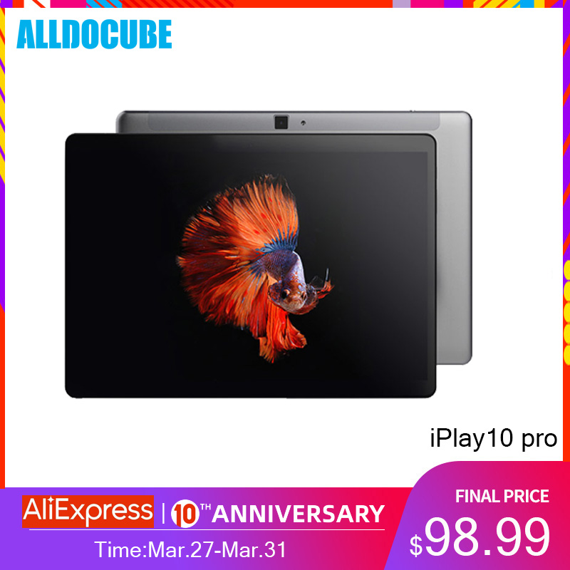 Alldocube iPlay10 Pro 10,1 pulgadas, tableta con WiFi Android 9,0 HDMI MT8163 quad core Tablet PC RAM 3GB ROM 32GB 1200*1920 IPS chico Tablet title=