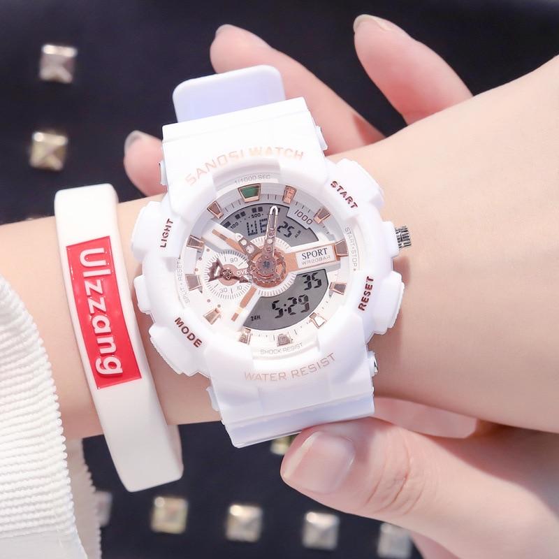 2020 Losida New Fashion Ladies Digital Watch Automatic Waterproof Top Quality Famous Clock Army Luxury Women Wristwatch Military