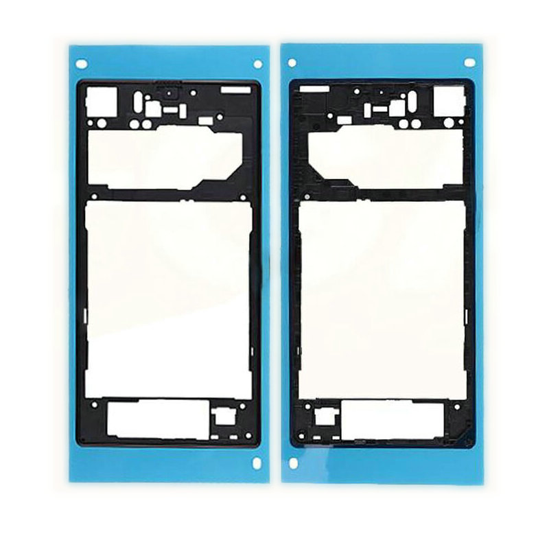 Repair Part For Sony Xperia Z1 L39h C6903 White/Black/Purple Color Rear Back Frame Chassis Housing With Adhesibe Sticker