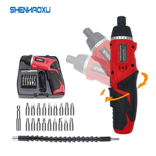 Power-Tools Cordless-Drill Electric-Screwdriver Multi-Function Lithium-Battery Rechargeable