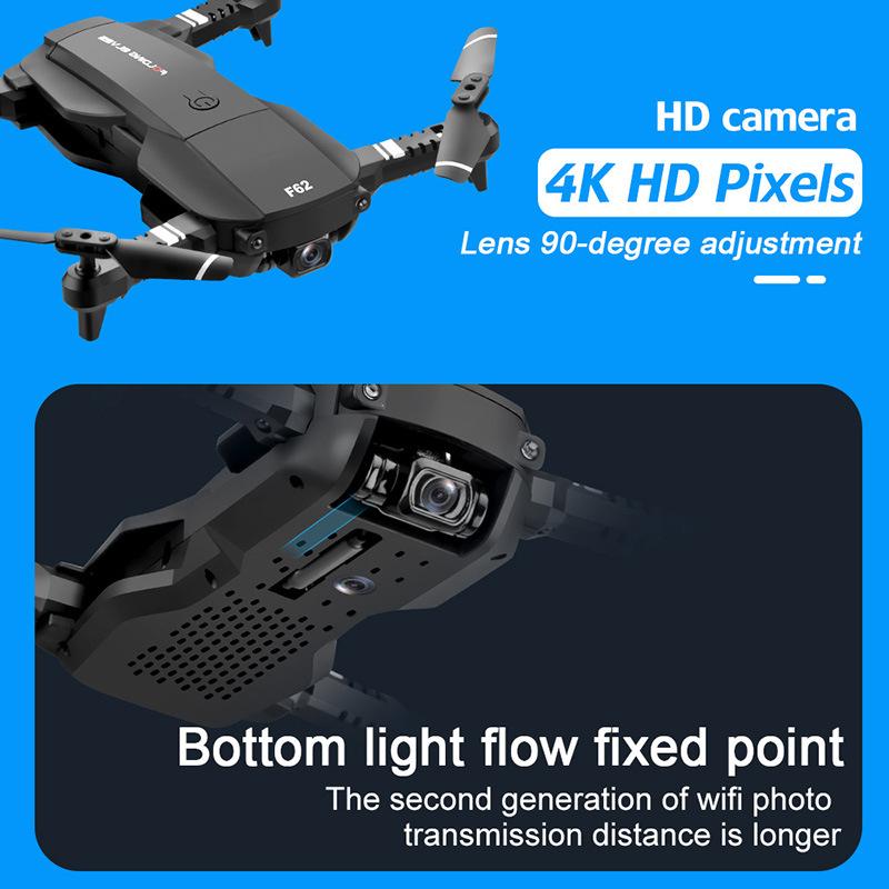 F62 Drone Adjustable Camera