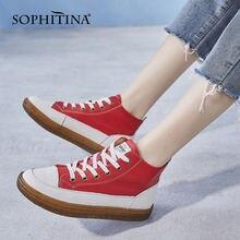 Sophitina/Женская обувь; Модная женская обувь для отдыха из