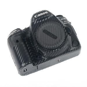 Image 4 - Korpus aparatu skóra ochronna naklejki z włókna węglowego Film dla Canon EOS R5 R6 800D 250D 200D 80D 90D 5Ds 5D III IV 6D II SL3 SL2 T7i