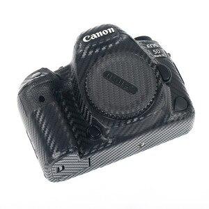 Image 4 - カメラボディ保護スキン炭素繊維ステッカーフィルムキヤノンeos R5 R6 800D 250D 200D 80D 90D 5Ds 5D iii iv 6D ii SL3 SL2 T7i