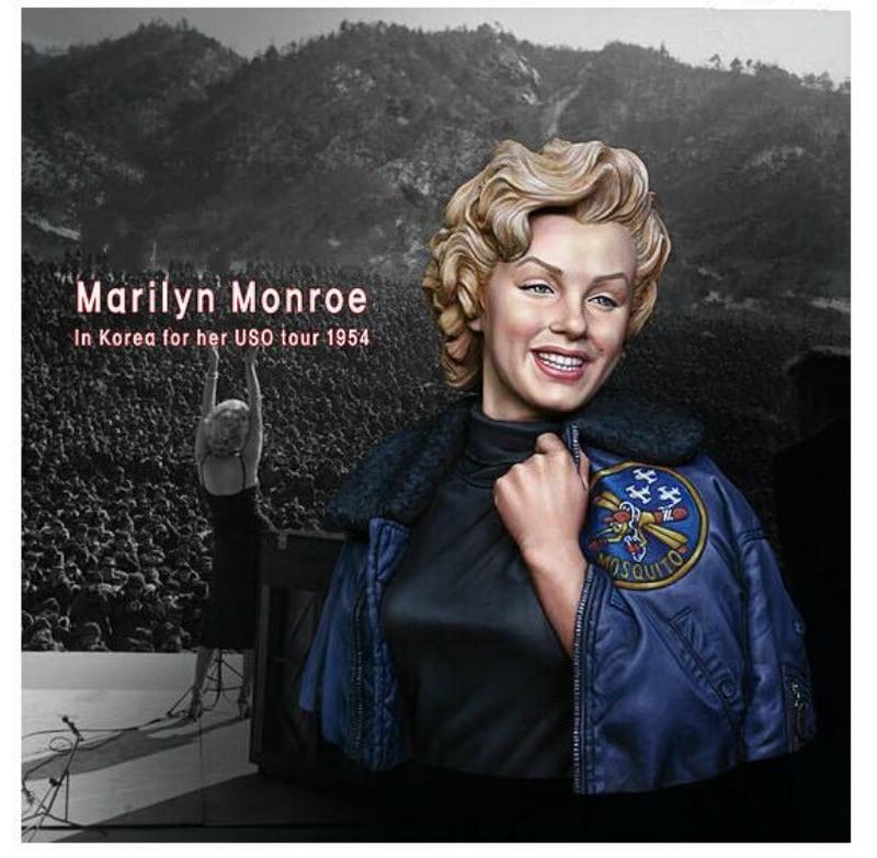 1/10 Resin Bust Model Kit  Marilyn Monroe X140