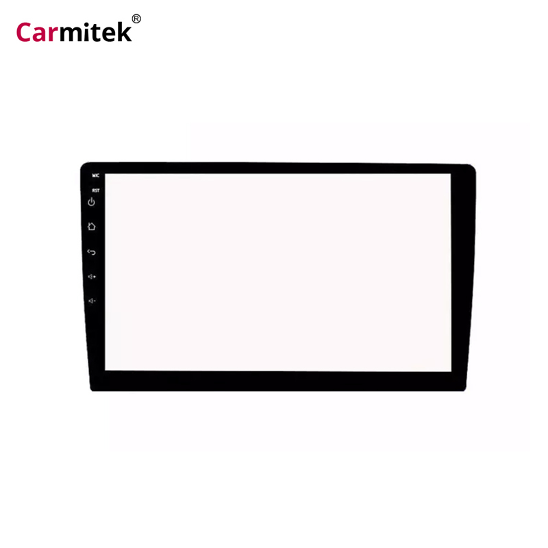 Carmitek Car Tempered Glass Protective Film Stikcer for 9 inch Multimedia Radio Stereo 2 din Car DVD GPS Touch full LCD Screen image